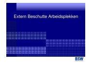 Extern Beschutte Arbeidsplekken- BSB - SBCM