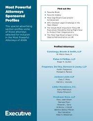 Most Powerful Attorneys Sponsored Profiles - Human Resource ...