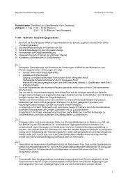 Protokoll 01. Oktober 2004 (nachmittags) - BILINGUAL-AG-NRW.de