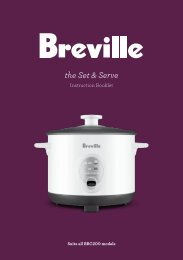 the Set & Serve - Breville