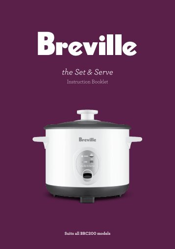 the Set & Serve - Breville