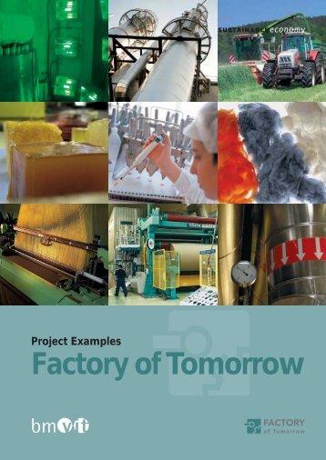 "The ""Factory of Tomorrow"" Subprogram - Fabrik der Zukunft"