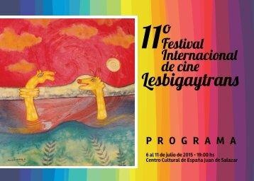 programa festival de cine 2015 liviano