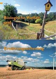 Biologische Vielfalt Ernährungssicherung und - Deutsche ...