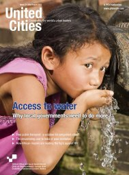Access to water - UCLG