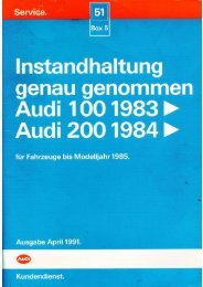 PDF Datei - Audi 100 online