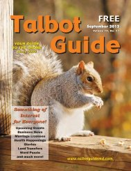 Something of Interest for Everyone! Something of ... - The Talbot Guide