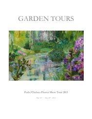 Paris/Chelsea Flower Show Tour 2013 - Gardening Tours