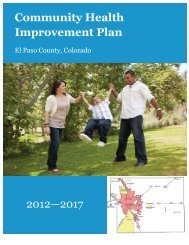 Community Health Improvement Plan 2012—2017 - El Paso County ...