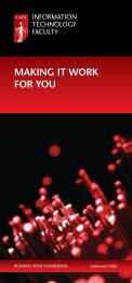 Prospectus | Information Technology Faculty | ICAEW