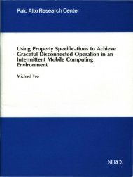 Using Property Specifications to Achieve . Graceful ... - Index of