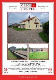 Price Guide: £349950 Trentside Farmhouse ... - Grice & Hunter