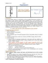 Pre-Lab Preparation and Procedure Sheet