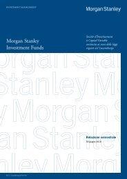 Morgan Stanley Investment Funds - Fideuram Vita