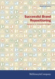 Successful Brand Repositioning: Aspirations vs. Achievable ... - smallB
