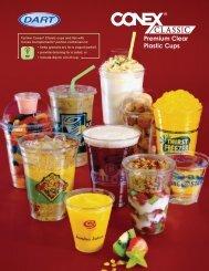 Conex Classic Premium Clear Plastic Cups (PDF) - NASSCO Inc.