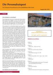 Ausgabe vom März 2010