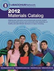 Materials Catalog - Bacchus Network Store