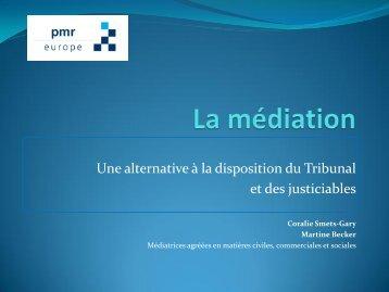 La médiation - Juridat