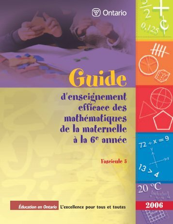 Guide d'enseignement efficace des - L'@telier