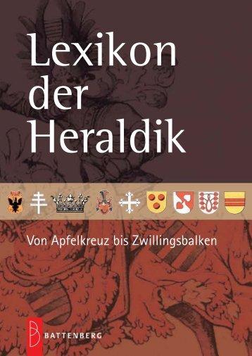 Layout Lexikon Heraldik