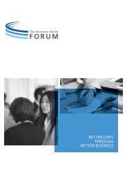 better lives through better business - Consumer Goods Forum