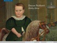 NGA | Deacon Peckham's Hobby Horse - National Gallery of Art