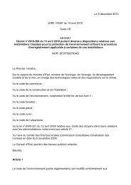 Le décret n°2010-368 du 13 avril 2010 - (CCI) de Narbonne ...