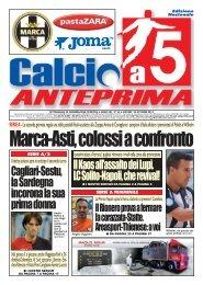 Edizione Nazionale Nr.34 del 10/10/2013 - Calcio a 5 Anteprima