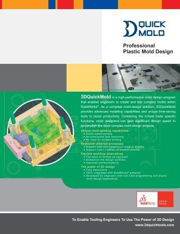 Professional Plastic Mold Design - Mechanical Parts