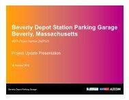MBTA Powerpoint Presentation - October 2012