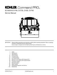 English - Kohler Engines