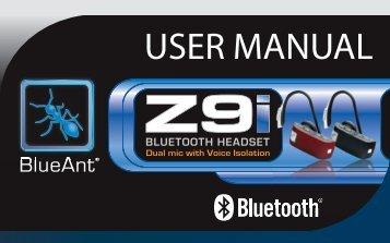 User Manual - English, French, Spanish (PDF ... - BlueAnt Wireless