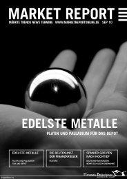 EDELSTE METALLE - Hanseatic Brokerhouse