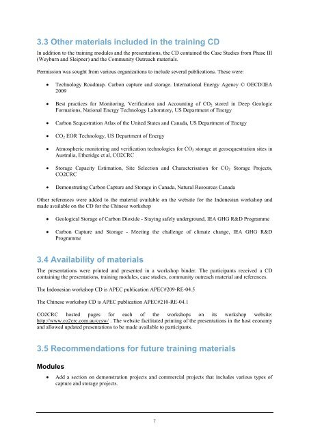 Report - Expert Group on Clean Fossil Energy - Asia-Pacific ...