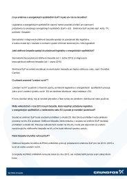 Otázky a odpovědi k EuP - Grundfos
