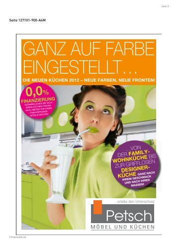 3 Free Magazines From Moebel Petsch De