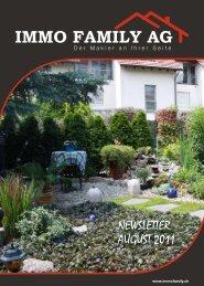 Die Herbstausgabe unseres Immobilien Magazins ... - Immo Family AG