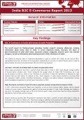 Samples India B2C E-Commerce Report 2013 - yStats.com - Page 2