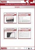 Samples India B2C E-Commerce Report 2013 - yStats.com - Page 4