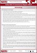 Samples India B2C E-Commerce Report 2013 - yStats.com - Page 5