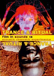 Film in Sounds 18 - Tilsiter Lichtspiele