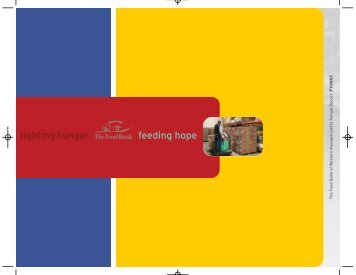 2007 Annual Report - Food Bank of Western Massachusetts