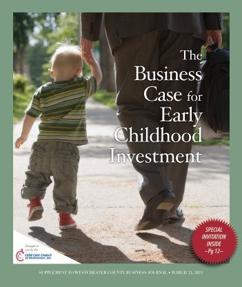 Business Case for Early Childhood Investment - Child Care Council ...