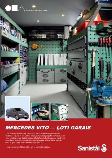 Mercedes Vito - ļoti garais - Sanistal