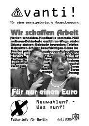 Die Avanti vom Juni 2005 ist im Netz - Falken Berlin