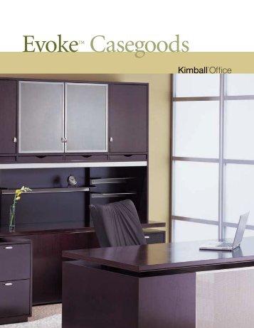EvokeTM Casegoods - The Office Furniture Group.