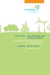 Fórum Clima Ação empresarial sobre mudanças ... - Instituto Ethos
