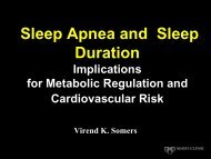 Normal and Disordered Sleep-Implications for Metabolic Regulation
