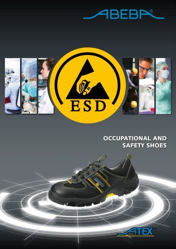 OccupatiOnal and safety shOes